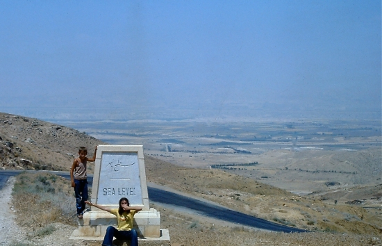Into the Jordan Valley