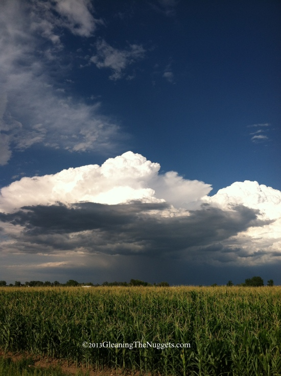 Colorado Clouds Vertical